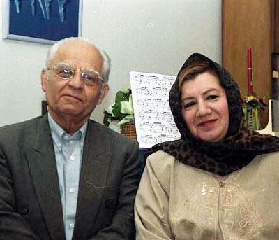 حسین دهلوی و سوسن اصلانی