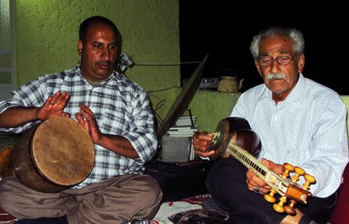 شبی در کنار هنرمندان جهرمی- استاد اصغر پورزاد