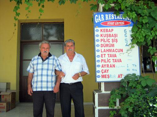 ایسگاه بین راهی آدانا به قونیه، روستایی به نام ینی جه Yenice