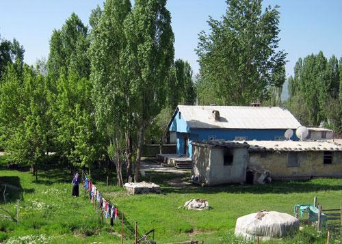 خانه روستایی در شرق ترکیه